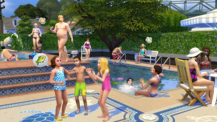 Wenig actionreiche Videospiele wie The Sims haben keinen Effekt auf das Lernen.