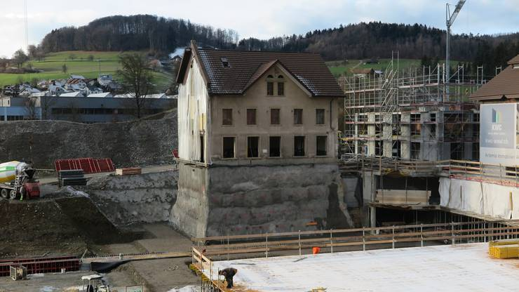 """Das """"Hochhaus"""" von Unterkulm!"""