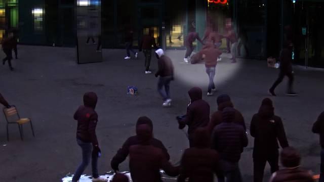 Schockierende Gewaltszenen unter Zürcher Fussball-Hooligans