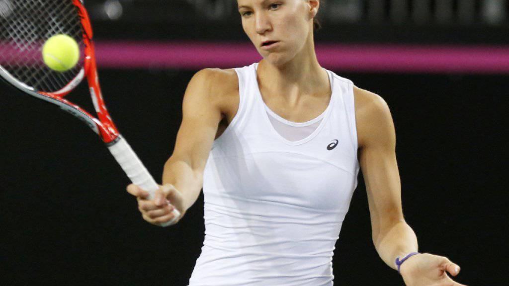 Viktorija Golubic scheiterte in Dubai an Caroline Wozniacki, der ehemaligen Nummer 1 der Welt