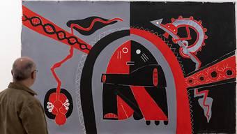 """Mit Werken wie """"Polynesian Connection"""" schlug der Neuseeländer Len Lye (1901-1980) eine Brücke zwischen indigener Kunst und westlicher Avantgarde. Das Museum Tinguely Basel zeigt eine Retrospektive des Werks des hierzulande noch weitgehend unbekannten Künstlers."""