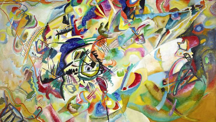 In der Fondation Beyeler in Riehen BS zu sehen: «Fuga», 1914, von Wassily Kandinsky u