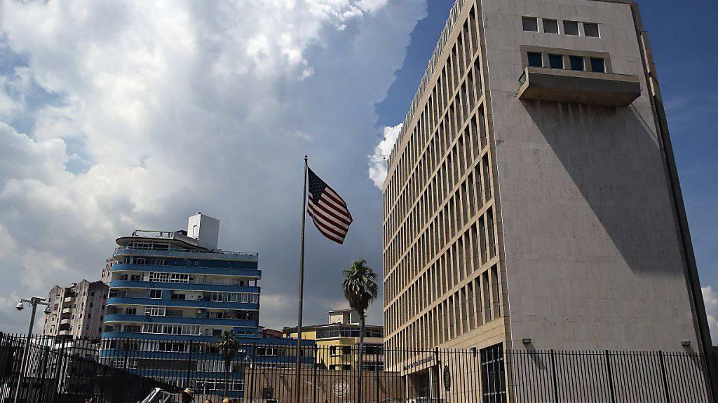US-Botschaft in Kubas Hauptstadt Havanna (Archiv)