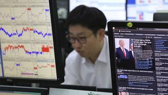 Neue Regeln für den Handel zwischen Südkorea und den USA: US-Präsident Donald Trump will offenbar das Freihandelspaket neu verhandeln. (Archivbild)