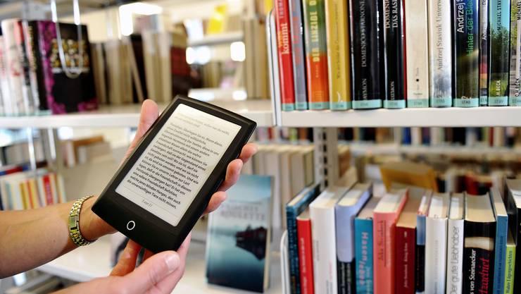 Besonders Schweizer Autoren und Autorinnen sind bei E-Book-Lesern beliebt.