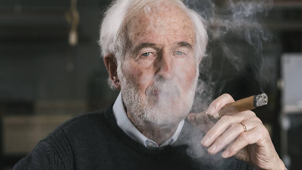 Da kann sich Firmenpatron Heinrich Villiger freuen: Die Coronakrise machte dem Zigarrenhersteller kaum zu schaffen (Archivbild).