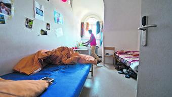 Minderjährige Asylsuchende sind beispielsweise im Zentrum Sonnenhof in Emmenbrücke einquartiert.