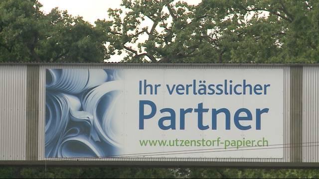 Papieri Utzenstorf schliesst: 200 Mitarbeiter bald ohne Job