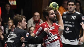 Gegen Steffisburg muss der STV Baden eine Niederlage ein Kauf nehmen.
