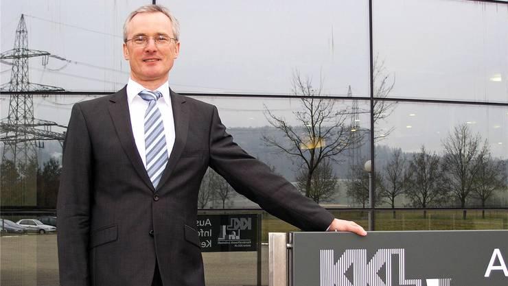 Grenzgänger in exponierter Position: Der deutsche Ingenieur Andreas Pfeiffer leitet seit 2010 das Atomkraftwerk Leibstadt.Roland Gerard, Südkurier