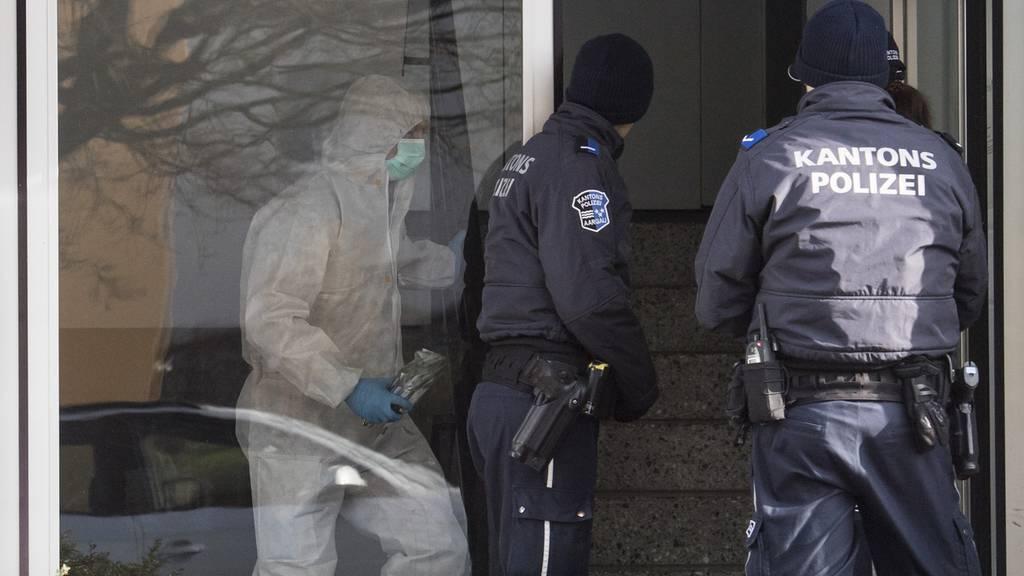 Hausen Tötungsdelikt  2 Leichen Polizei