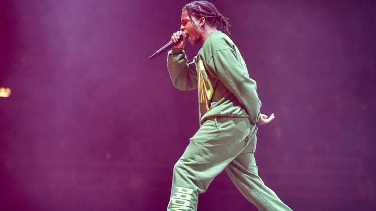 US-Rapper Asap Rocky ist nach seinem Gefängnisaufenthalt in Schweden für ein Konzert nach Stockholm zurückgekehrt.