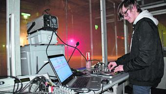 Seit drei Jahren verantwortlich für die Musik in der Eisdisco: DJ J.S.B. aus Fischbach-Göslikon.