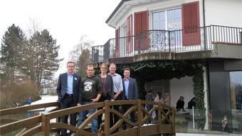 Der Club Widenmoos öffnete für die frisch fusionierte Gemeinde Reitnau seine Tore