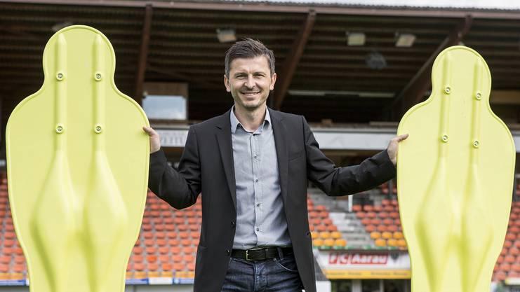 Schafft der FC Aarau bis Ende Saison Rang 4, würde sich der Vertrag von Trainer  Marinko Jurendic um ein Jahr verlängern.