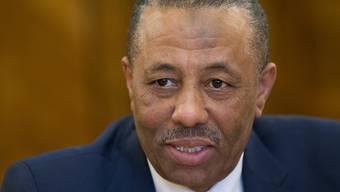 Der libysche Regierungschef Al-Thani überlebte einen Anschlagsversuch (Archiv)