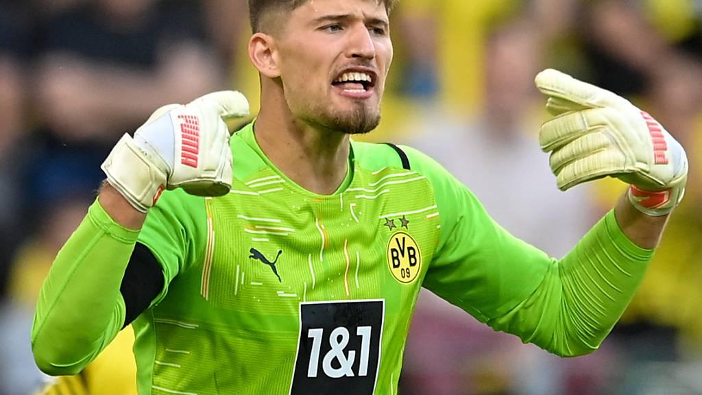 Gregor Kobel legte mit Borussia Dortmund einen Start nach Mass hin, der Hoffnung auf eine frühe Krönung macht