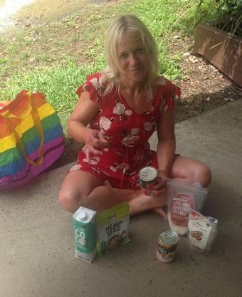 Fünf Nahrungsmittel kann Karin Ochsner noch ohne Nebenwirkungen zu sich nehmen.