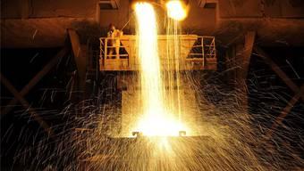 China ist der grösste Stahlhersteller: Allein die Provinz Hebei produziert so viel Stahl wie ganz Europa zusammen.  reuters