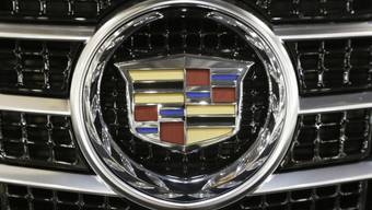 Das Logo der GM-Luxusmarke Cadillac