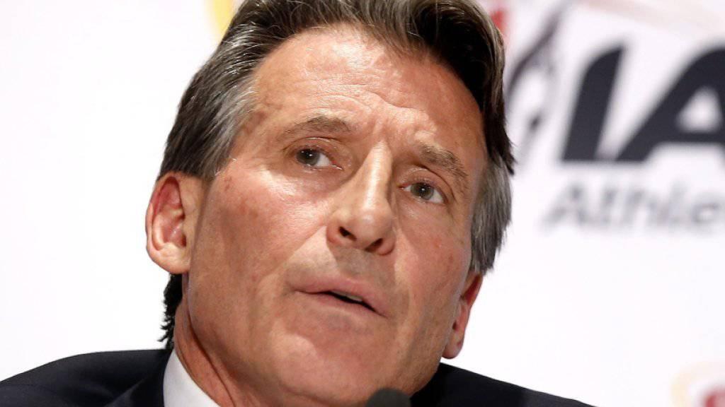 IAAF-Präsident Sebastian Coe bietet russischen Athleten einen «Ausweg»