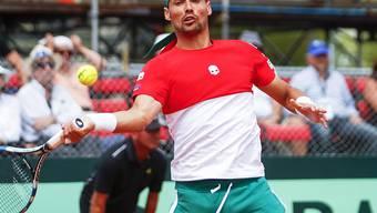 Fabio Fognini errang in Buenos Aires den entscheidenden Sieg für Italien