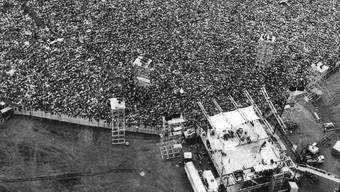 Das Woodstock Festival vor 50 Jahren gilt als Meilenstein der Rock-Kultur.
