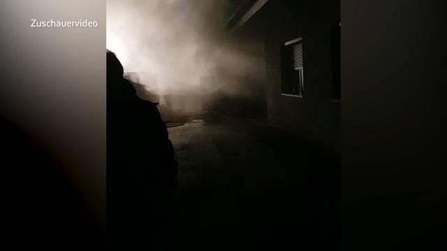Wegen Kühlschrank brennt Wohnung aus