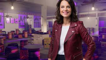 Ist in einer leidenschaftlichen Sport-Fan-Familie aufgewachsen: SRF-Moderatorin Mona Vetsch. (SRF)