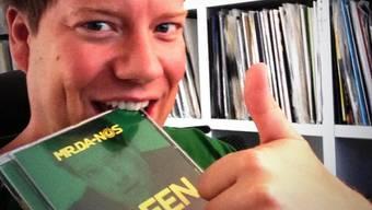 """Mr. Da-Nos mit seinem neuen Album """"Green"""" (Bild Facebook)"""