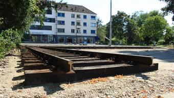 Der Speisewagen wird am 11. September auf die Schienen gehoben, der Küchenwagen folgt Anfang 2020.