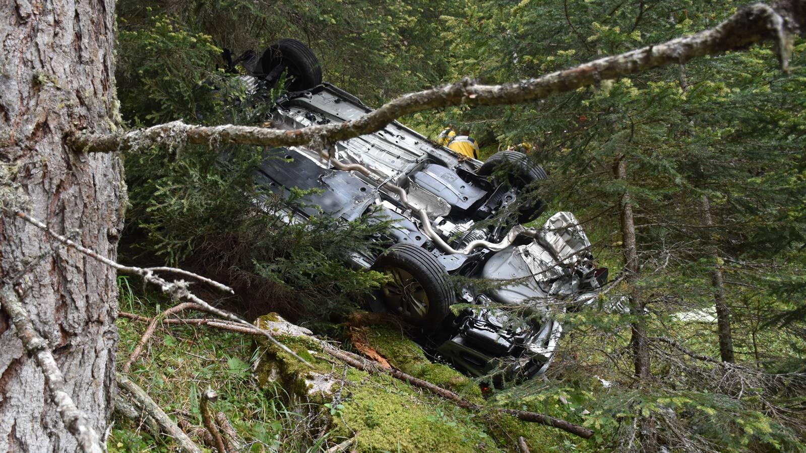 Das Auto konnte geborgen werden.
