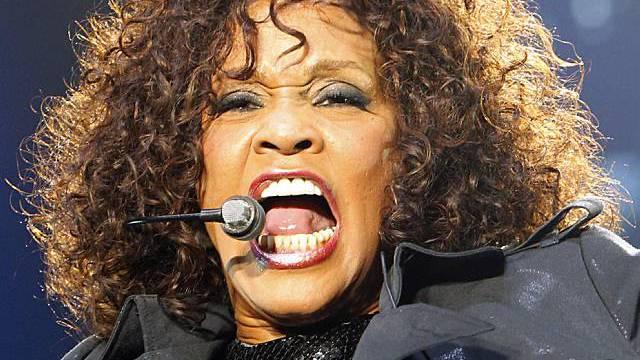 Whitney Houston ist schwer angeschlagen (Archiv)
