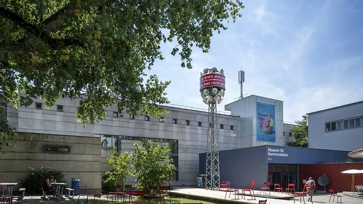 Auch der Vorplatz des Museums lädt neu zum Kommunizieren ein.