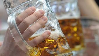 Bierkonsum sank um 0,7 Liter pro Kopf