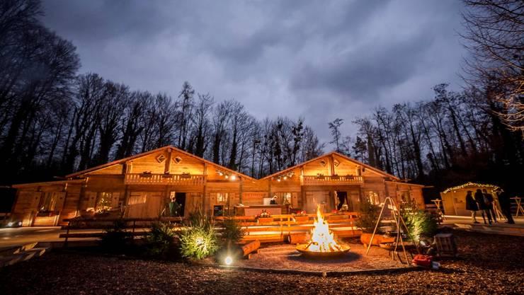 Diese Hütte liegt nicht etwa in einem Alpendorf, sondern in Stetten. zvg