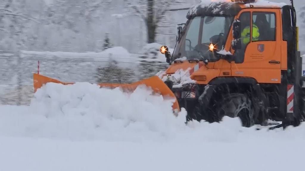 Schnee-Chaos in Österreich