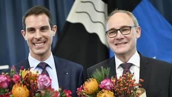 Thierry Burkart (FDP) und Hansjörg Knecht (SVP) vertreten den Aargau die nächsten vier Jahre im Ständerat.