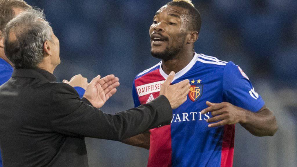 Geoffroy Serey Dié, hier noch im Basler Dress, soll Sicherheit in Xamax' Defensive bringen.