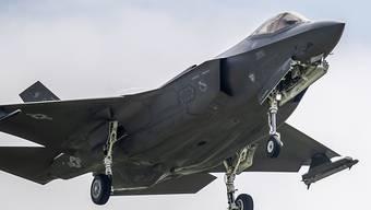 Die CVP Aargau fasst Parole: 96 Prozent sagen Ja zur Beschaffung von Kampfflugzeugen. (Themenbild)
