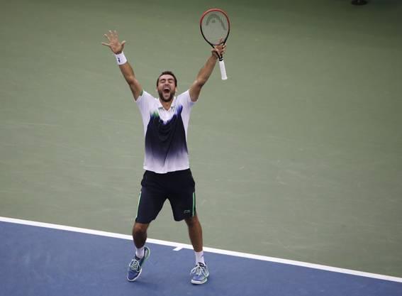 Marin Cilic steht im Final des US Open.