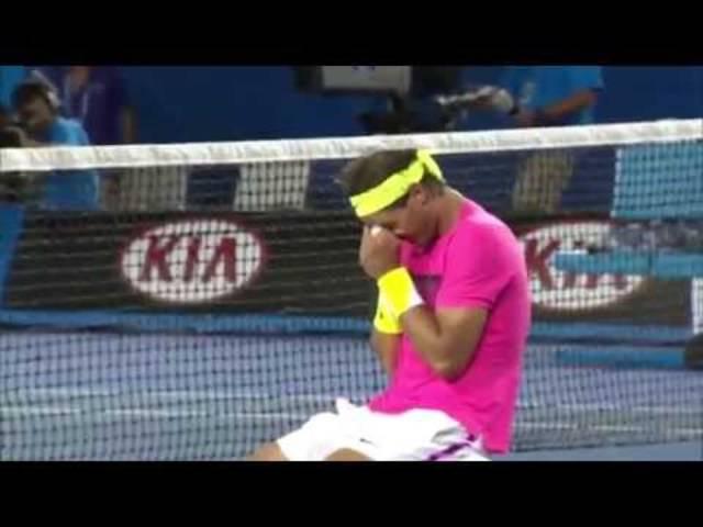 Mutiger Sieg und grosse Erleichterung: Rafael Nadal bezwingt am Australien Open Tim Smyczek aus den USA