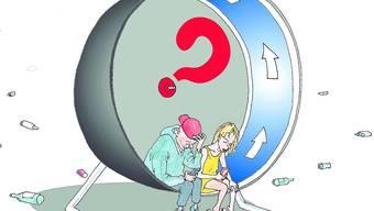 Studierende der Fachhochschule Nordwestschweiz führten eine Online-Umfrage zum Thema Jugendsorgen durch.