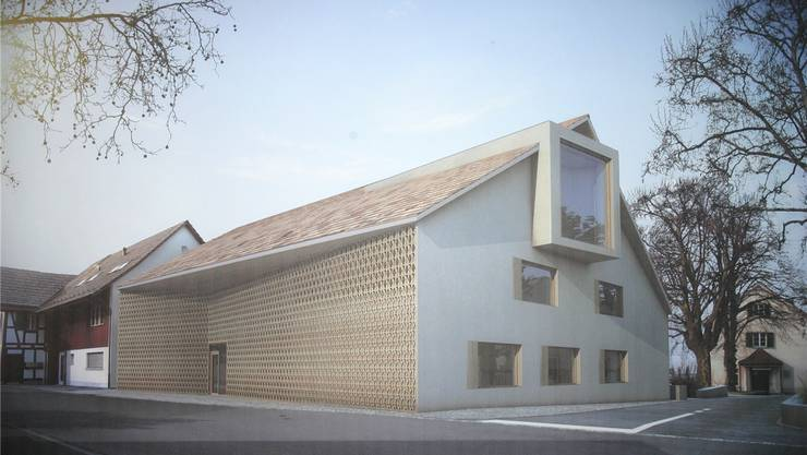So wird das neue Gemeindehaus dereinst aussehen. zvg
