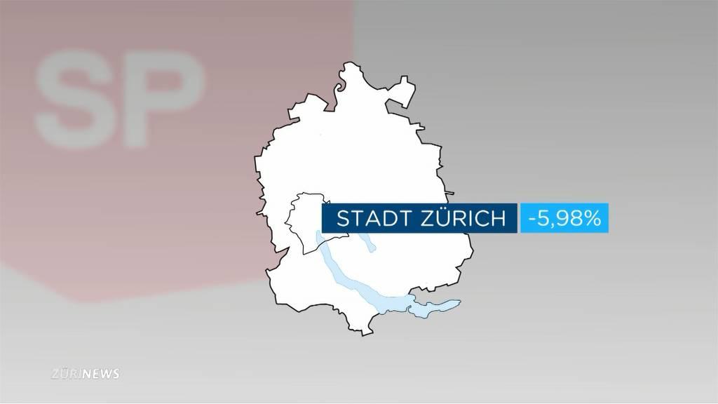 Wundenlecken bei der SP Zürich nach dem Wahldebakel