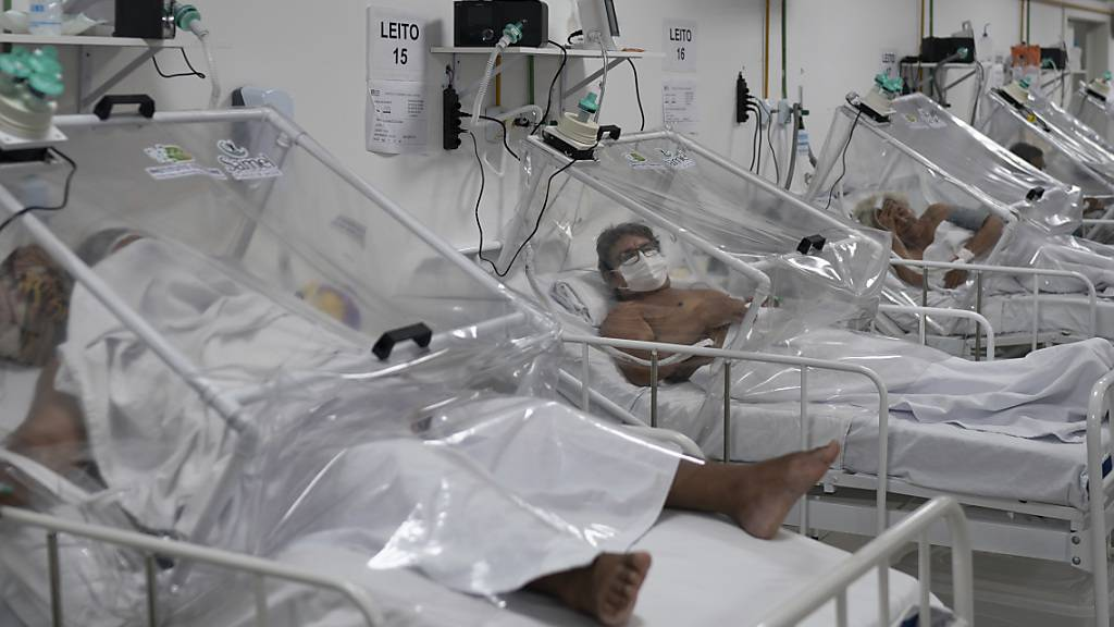 In Brasilien greift das Coronavirus immer weiter um sich.