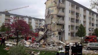 Eingestürzter Wohnblock in Reims