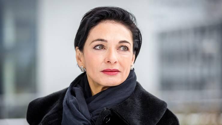 Marianne Binder (60), Parteipräsidentin der CVP Aargau.