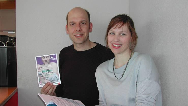 Reimar Walthert und Melanie Gehrig Walthert haben eine vergessene Kollo-Operette entdeckt und führen sie im Sommer in Oekingen auf.