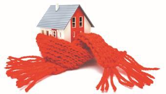 Bessere Isolation von Altbauten ist eine effiziente Klimaschutz-Massnahme.